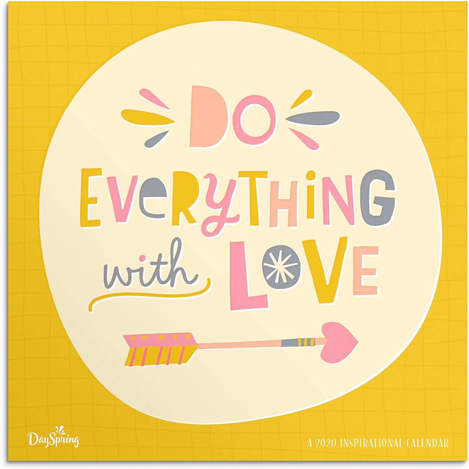 DaySpring Do Everything with Love - 2020 Wall Calendar