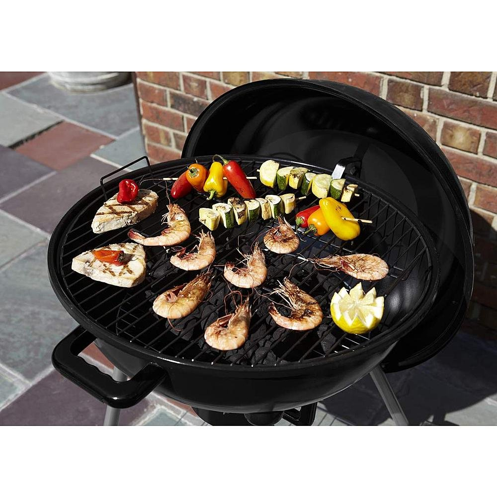 amazon com bbq pro 22 5in kettle charcoal grill garden u0026 outdoor