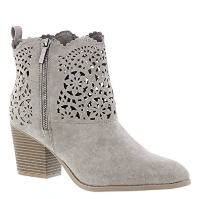 Womens Unity Ankle Boot with Cutout Design