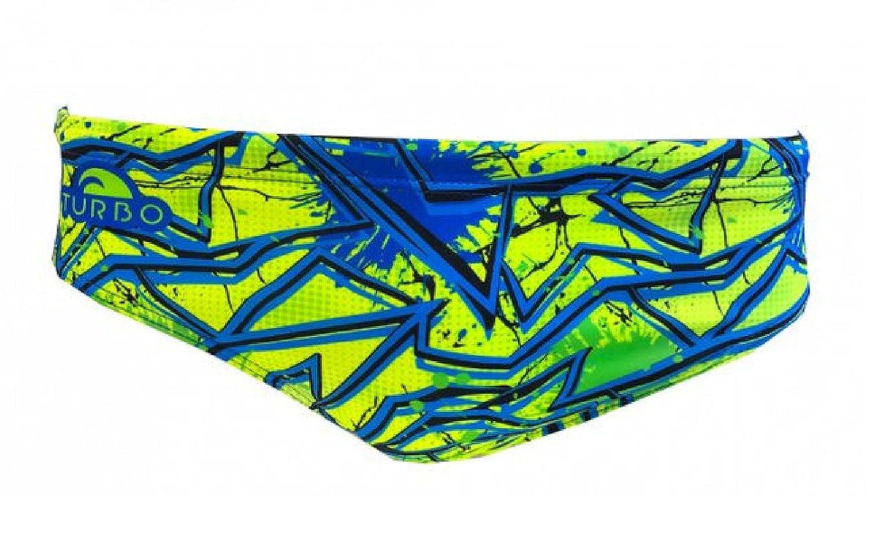 Turbo Bañador Hombre Shout - Bañador Potencia Sport, 7304041-0001, gelb / blau / schwarz, Slip-Gr. 7 / dt. Gr. 50 / Turbo 2XL: Amazon.es: Deportes y aire ...