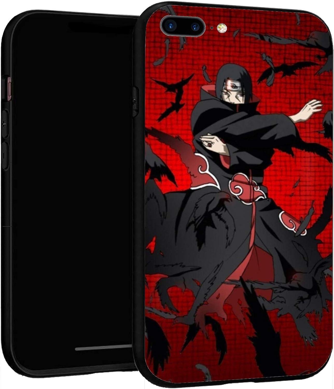 N / A iPhone 7 Plus 8 Plus Case,Slim Custom Cases Cover for iPhone 7P/8P (Naruto-Itachi)