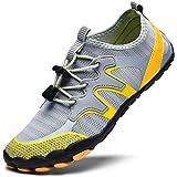 XIDISO Mens Water Shoes Womens Quick Dry Lightweight Barefoot Shoe Multifunction Aqua Sports Socks for Swimming Walking…