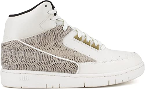 Nike Mens Air Python Leather High Top Fashion Sneakers