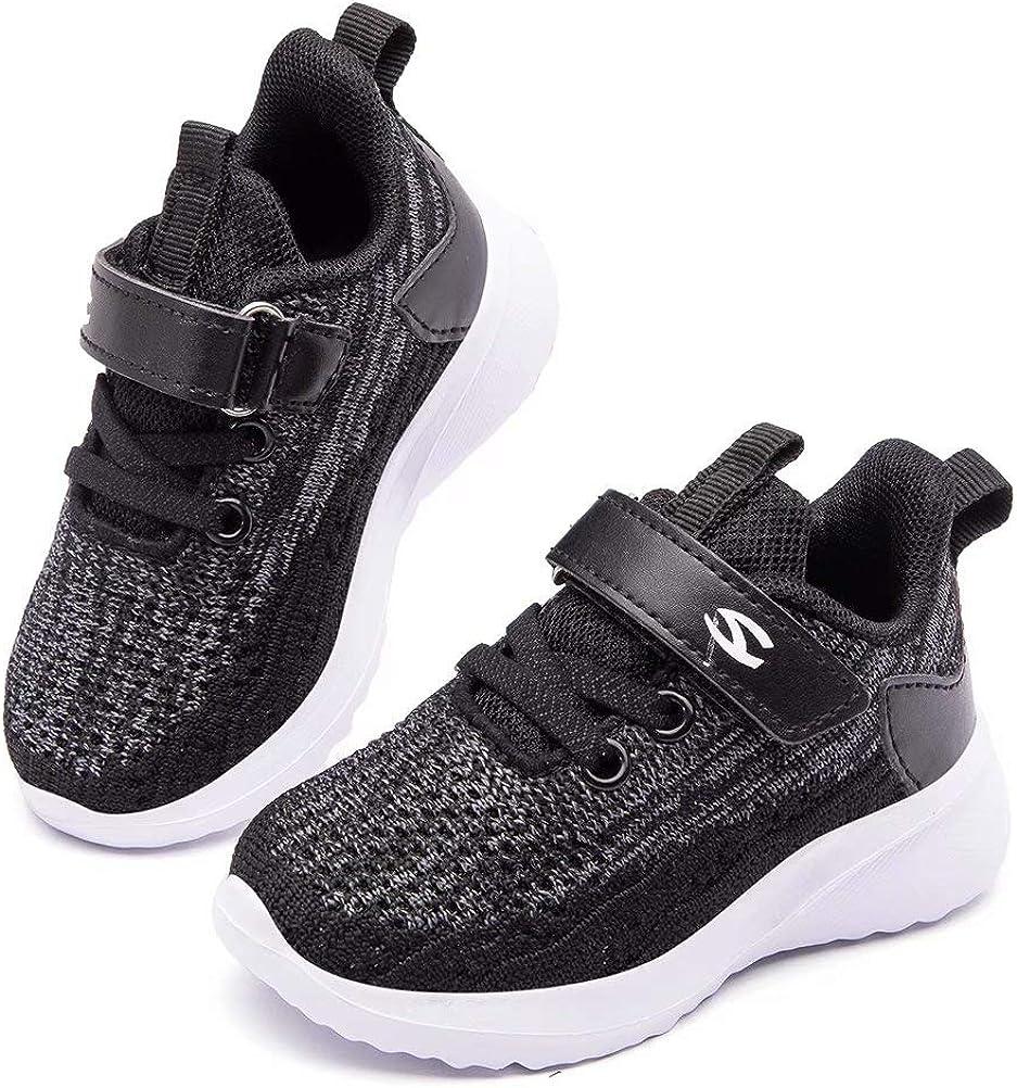 HOBIBEAR Kids Breathable Knit Sneakers