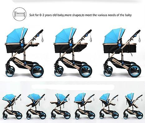 Amazon.com: Lujo Bebé recién nacido cochecitos sistemas de ...