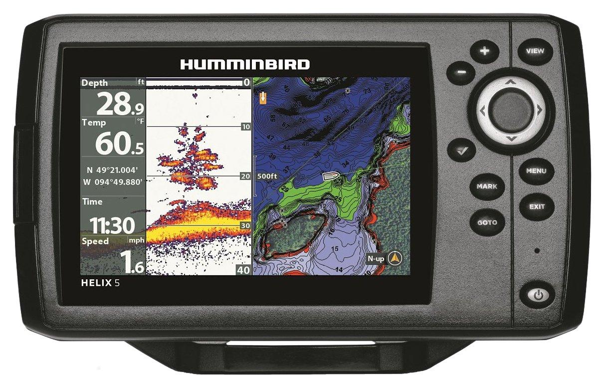 Humminbird 410210-1 Helix 5 Chirp GPS G2 Fish Finder Review
