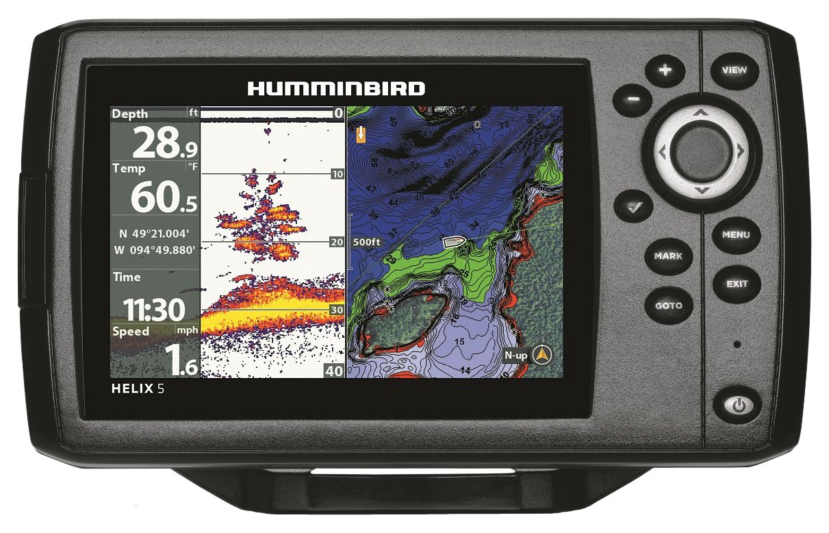 Humminbird 410210-1 Helix 5 Chirp GPS G2 Fish Finder by Humminbird