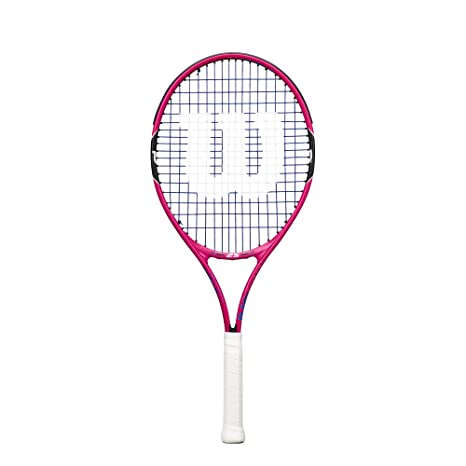 Wilson Junior Burn Pink Tennis Racquet Tennis Racquets at amazon