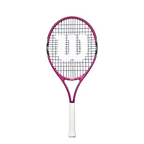 Wilson Junior Burn Pink Tennis Racquet Tennis Racquets at amazon