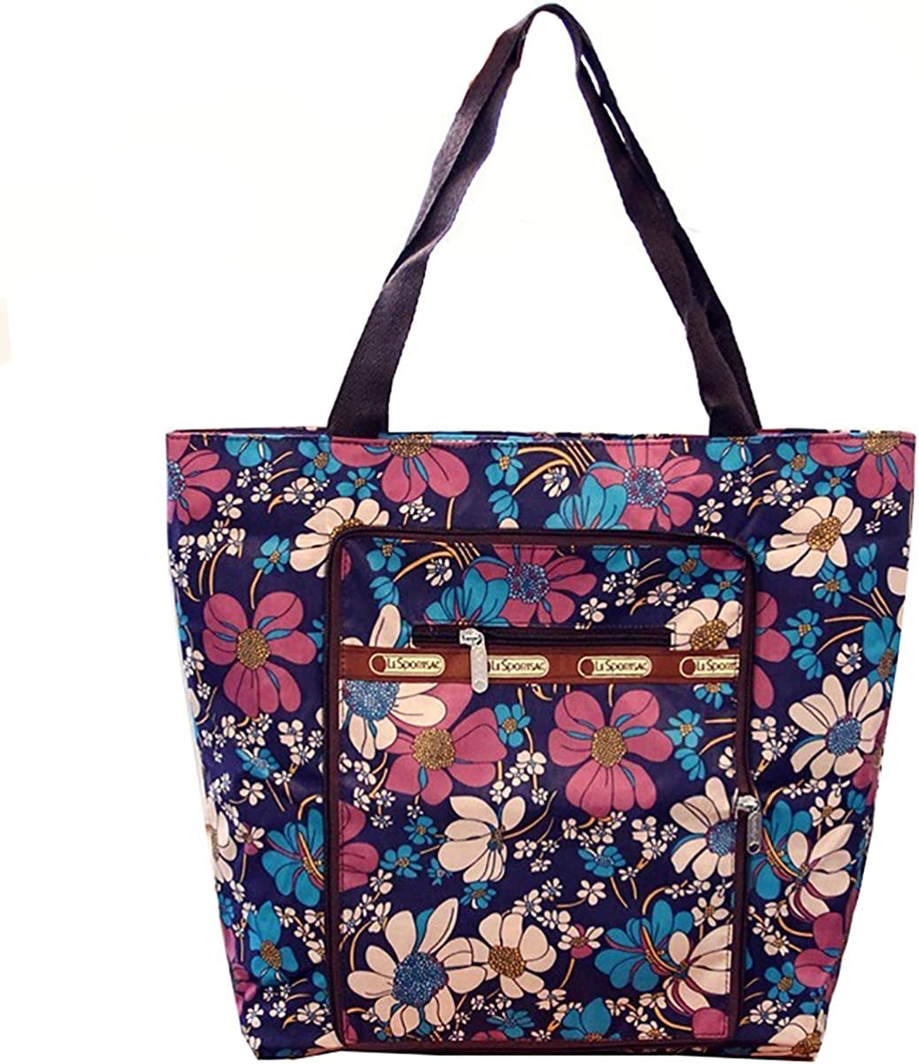 Women's Canvas Floral Tote...