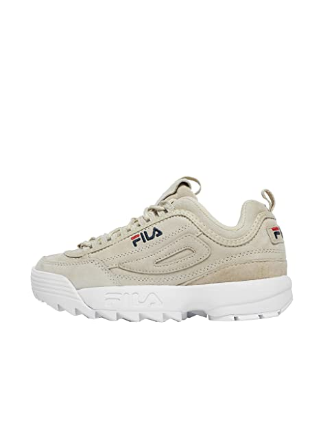 Fila Disruptor S Low Wmn Sneakers Grigio Bianco 1010436.30H (36 - Grigio)