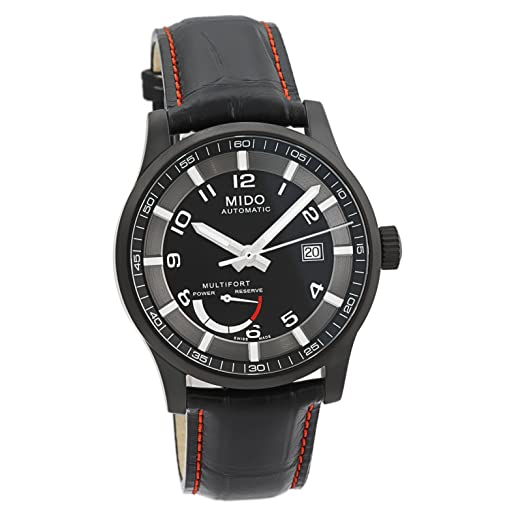 cc6fd36d0b1c MIDO Multifort Power Reserve Reloj Automático para hombres SWISS  m005.424.36.052.22  Amazon.es  Relojes