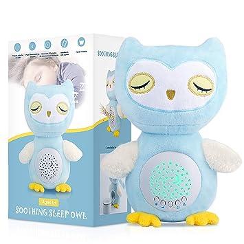 Amazon.com: Bebé sueño milagro chupete, blanco ruido máquina ...