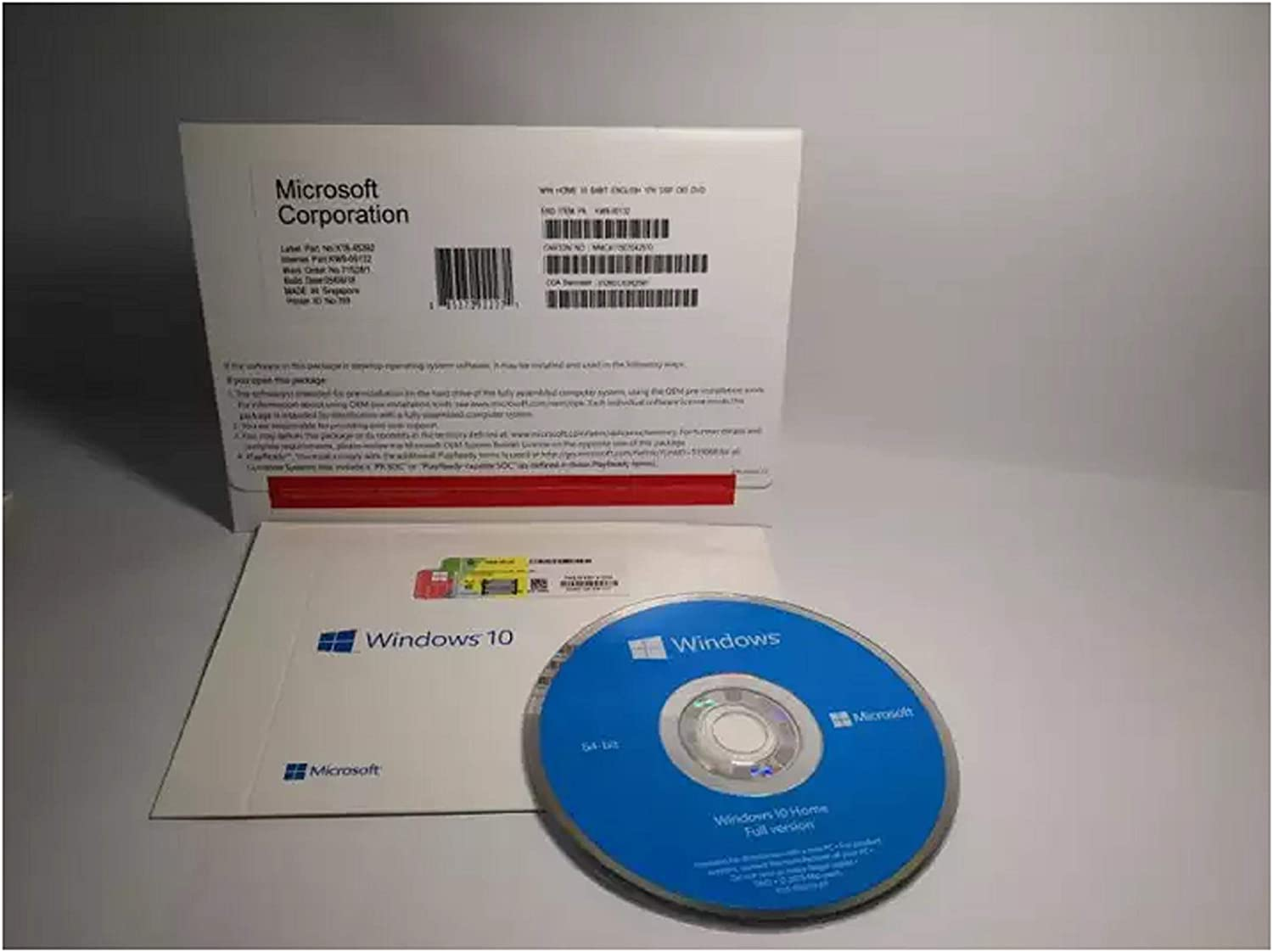 Windоws 10 Home OEM - DVD - 64 Bit - License - 1 PC - New - 100% Quality - Fast Delivery