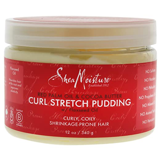 Styling Cream: SheaMoisture Red Palm Oil and Cocoa Butter Curl Stretch Pudding