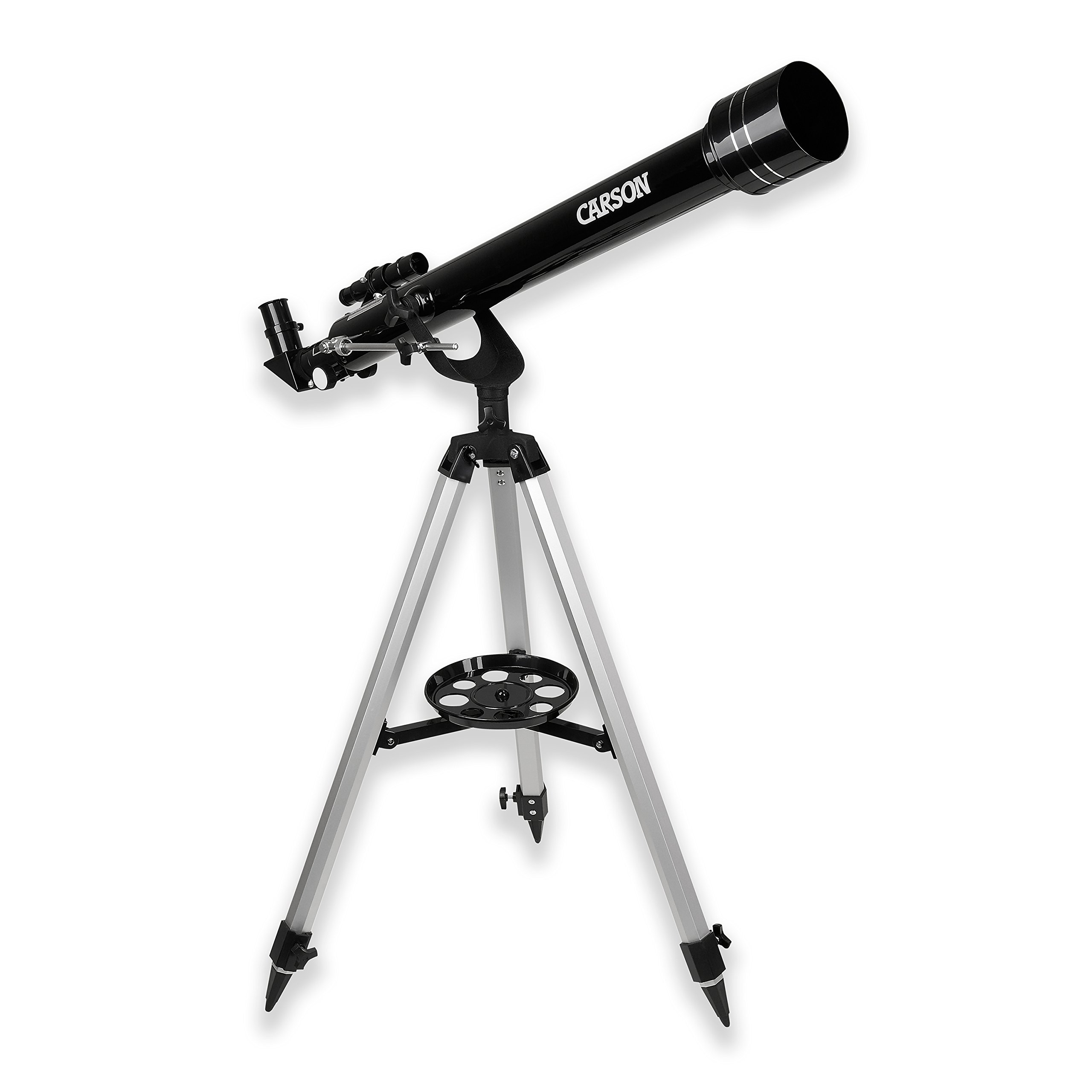 Carson SkySeeker 40-100x60mm Refractor Beginner Telescope with Tripod (JC-1000) by Carson