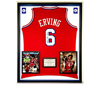 ad3eb5efa8c Basketball-NBA JULIUS ERVING 76ers NAMEPLATE for your AUTOGRAPHED Signed Basketball  JERSEY