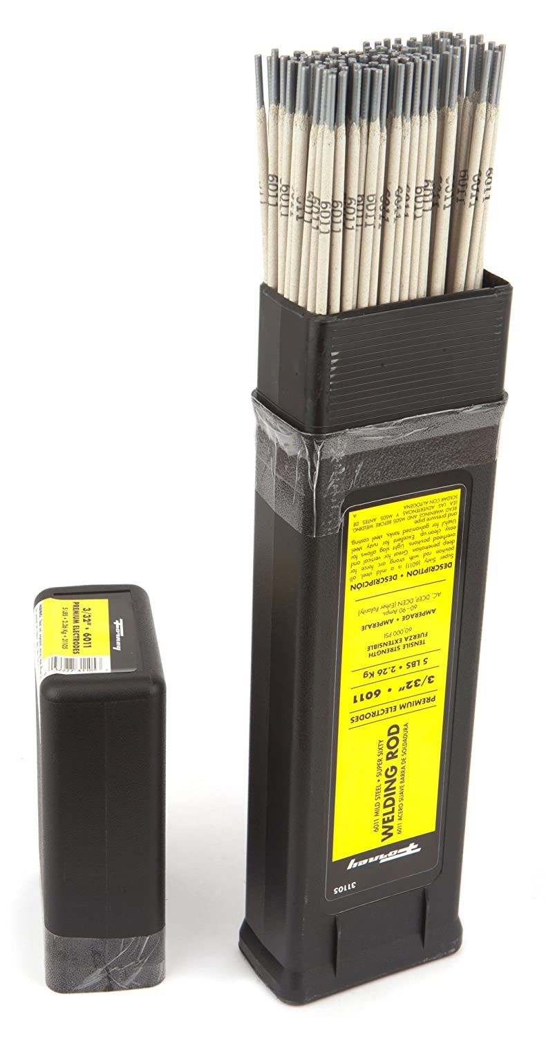Forney 31105 E6011 Welding Rod, 3/32-Inch, 5-Pound - Arc Welding Rods - Amazon.com