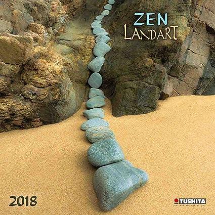 Calendario 2018 Land Art Zen - Art Nature - Arena - flores ...