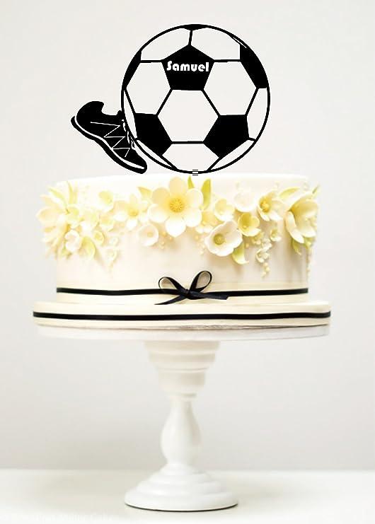 Amazon.com: KISKISTONITE - Decoración para tartas, fútbol y ...