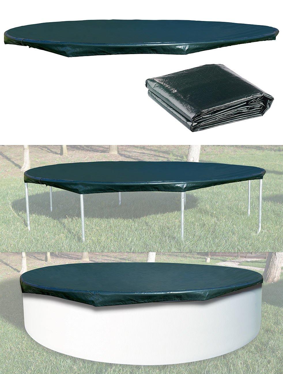 Bâche ronde pour piscine ou trampoline - Ø 3 m Royal gardineer