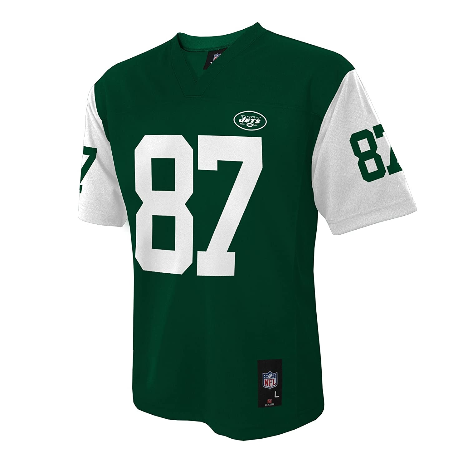 db1c493854e Amazon.com : NFL New York Jets Eric Decker Youth 8-20 Mid-Tier Jersey :  Sports & Outdoors