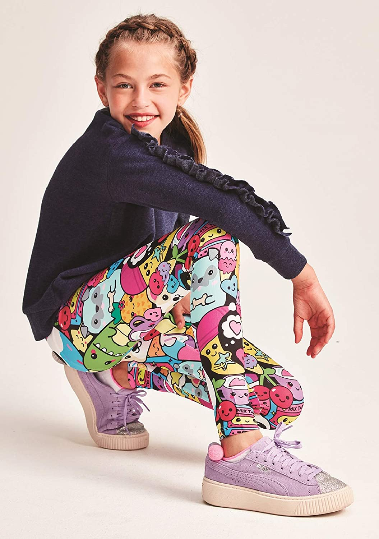 Kawaii Besties Collection iscream Big Girls Bold Print Stretch Leggings