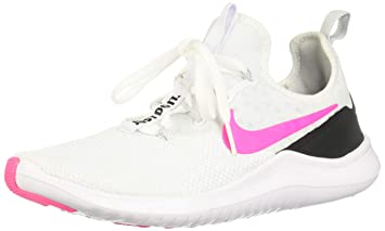 the best attitude f971c 6f671 Nike Women s Free Tr 8 White Pink Blast Black Training Shoe 6 Women US