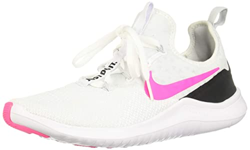 69197348eda5 Nike Women s Free Tr 8 White Pink Blast Black Training Shoe 6 Women US