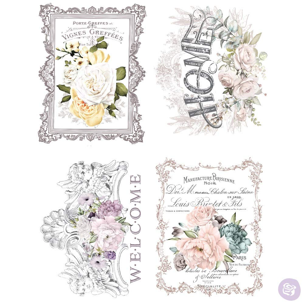 Prima Marketing Inc Redesign Transfer - Floral Home Mixed