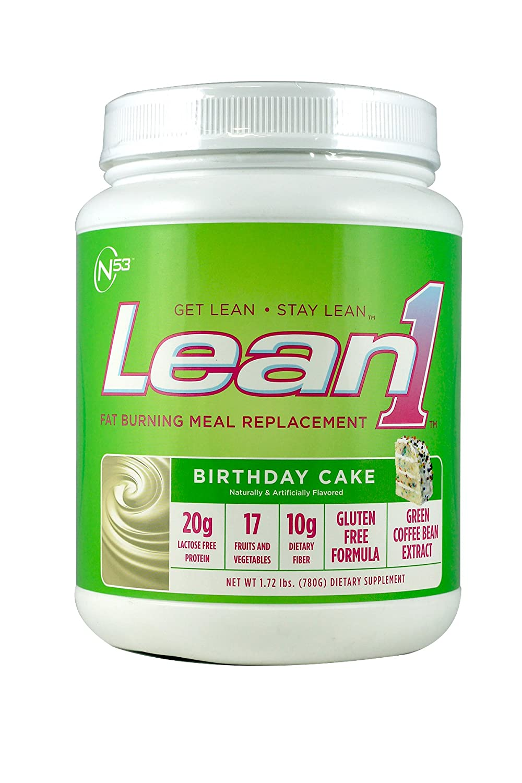 Amazon Nutrition 53 Lean 1 Birthday Cake 17lb Health