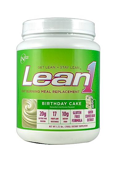 Amazoncom Nutrition 53 Lean 1 Birthday Cake 17Lb Health