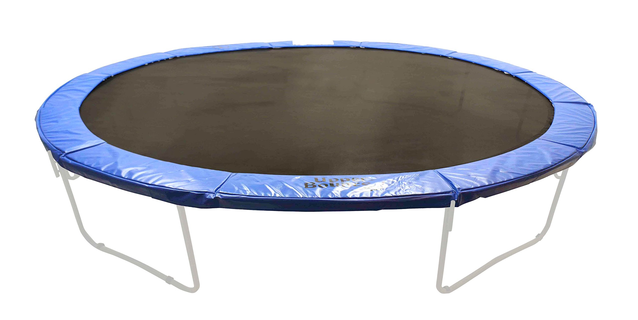 Upper Bounce Super Trampoline Safety Pad Spring Cover Fits for 17 x 15-Feet Oval Trampoline Frames, 10-Inch, Blue by Upper Bounce