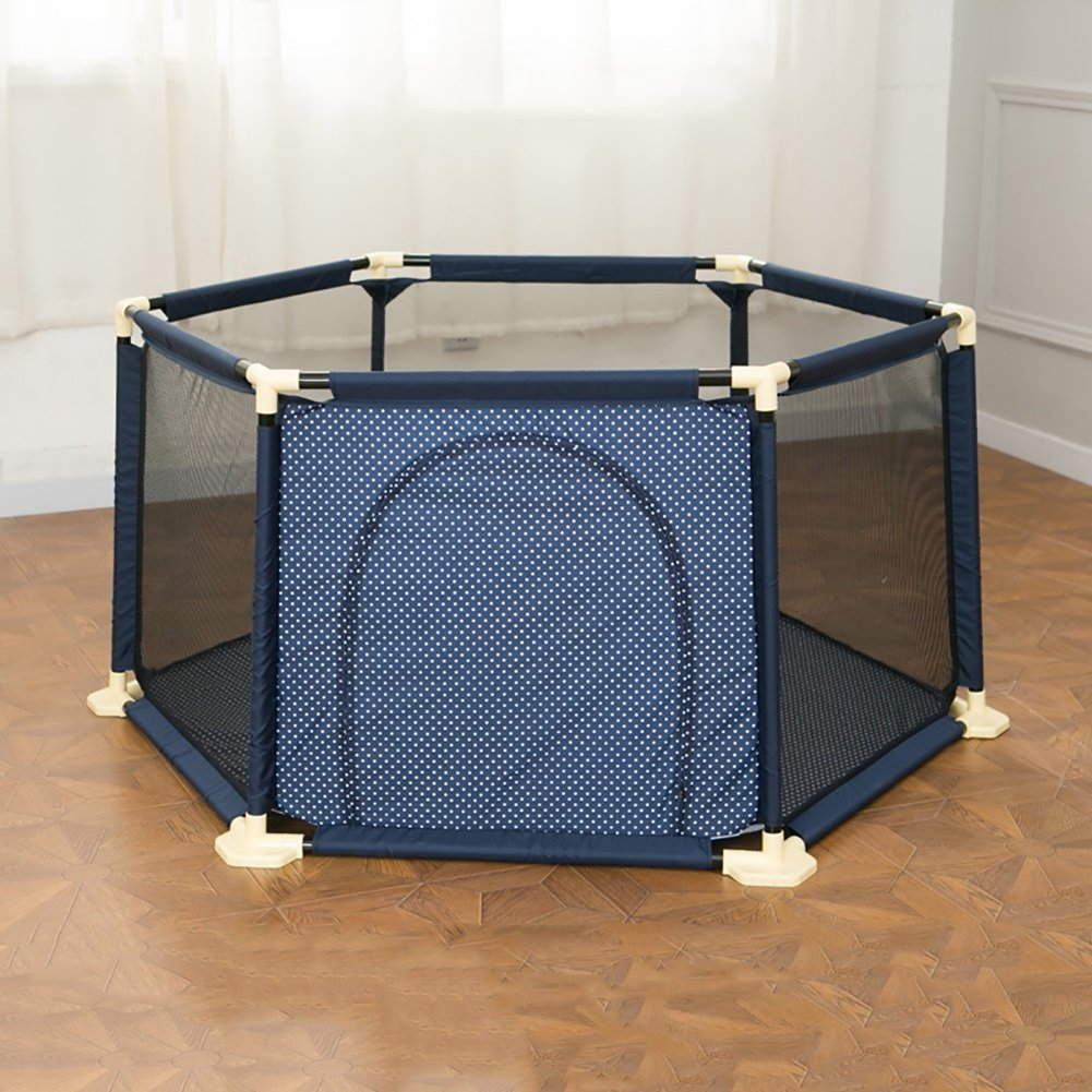売り切れ必至! WSSF- : 幼児の子供たちは、プレイペンズを再生するベビークロールマットウォーキングフェンスバーを再生ペン屋内遊び場の家庭の子供の安全フェンスカラー B07D7X7MH4 (色 サイズ : Blue, サイズ さいず : 180*66.5cm) 180*66.5cm Blue B07D7X7MH4, アイランドスタイル:15d1ce44 --- a0267596.xsph.ru