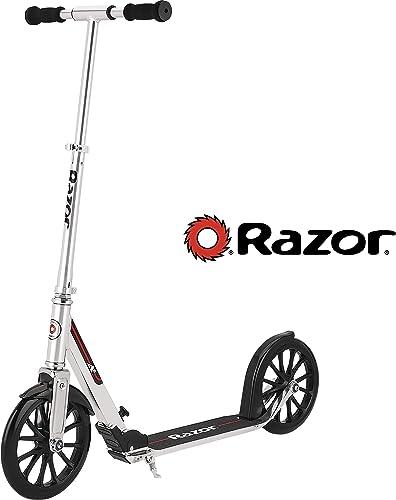 Razor A6 Kick Scooter – Silver – FFP