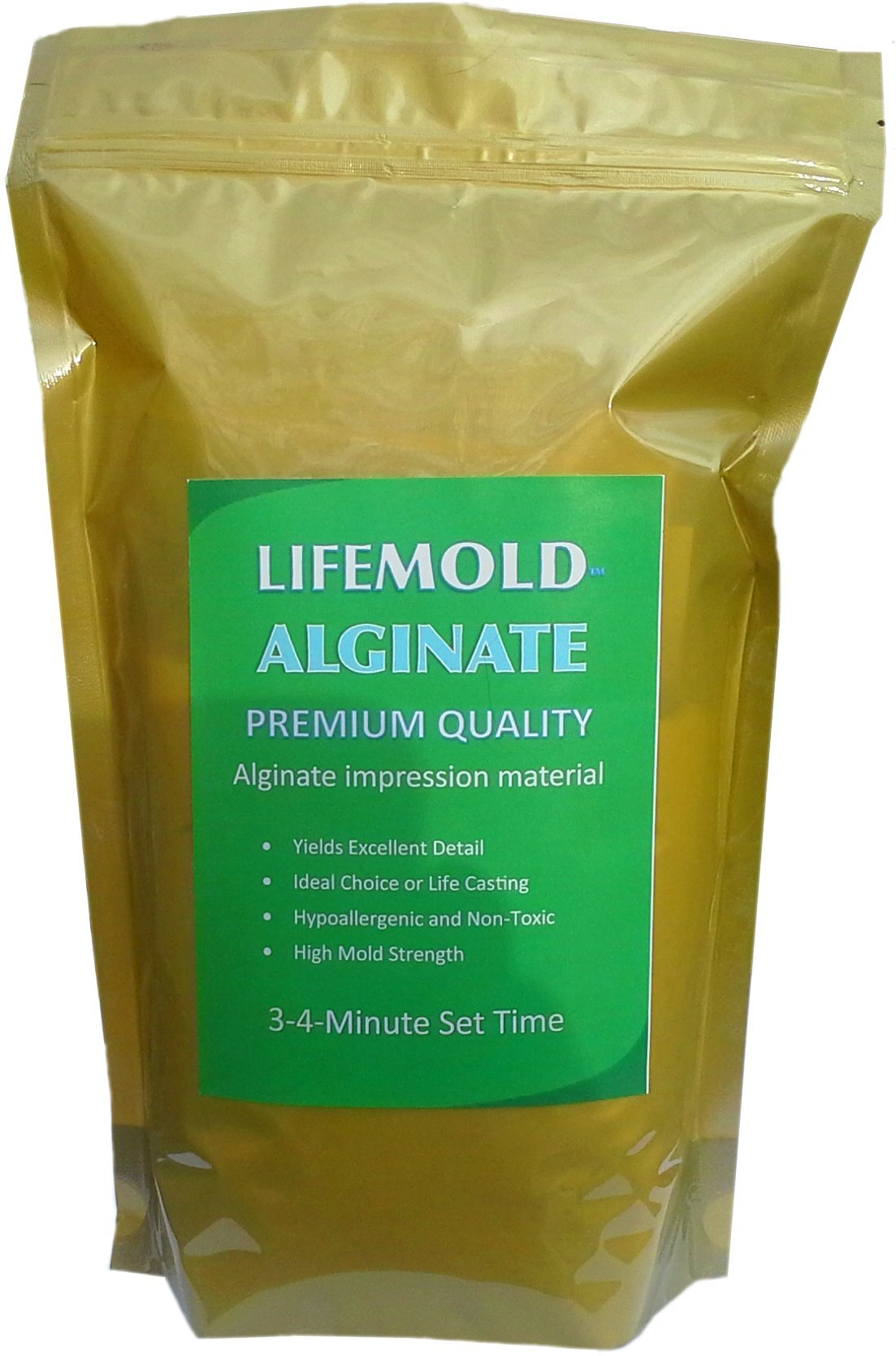 LifeMold Alginate 1-lb Skin-safe Mold Making Material by Environmolds LLC