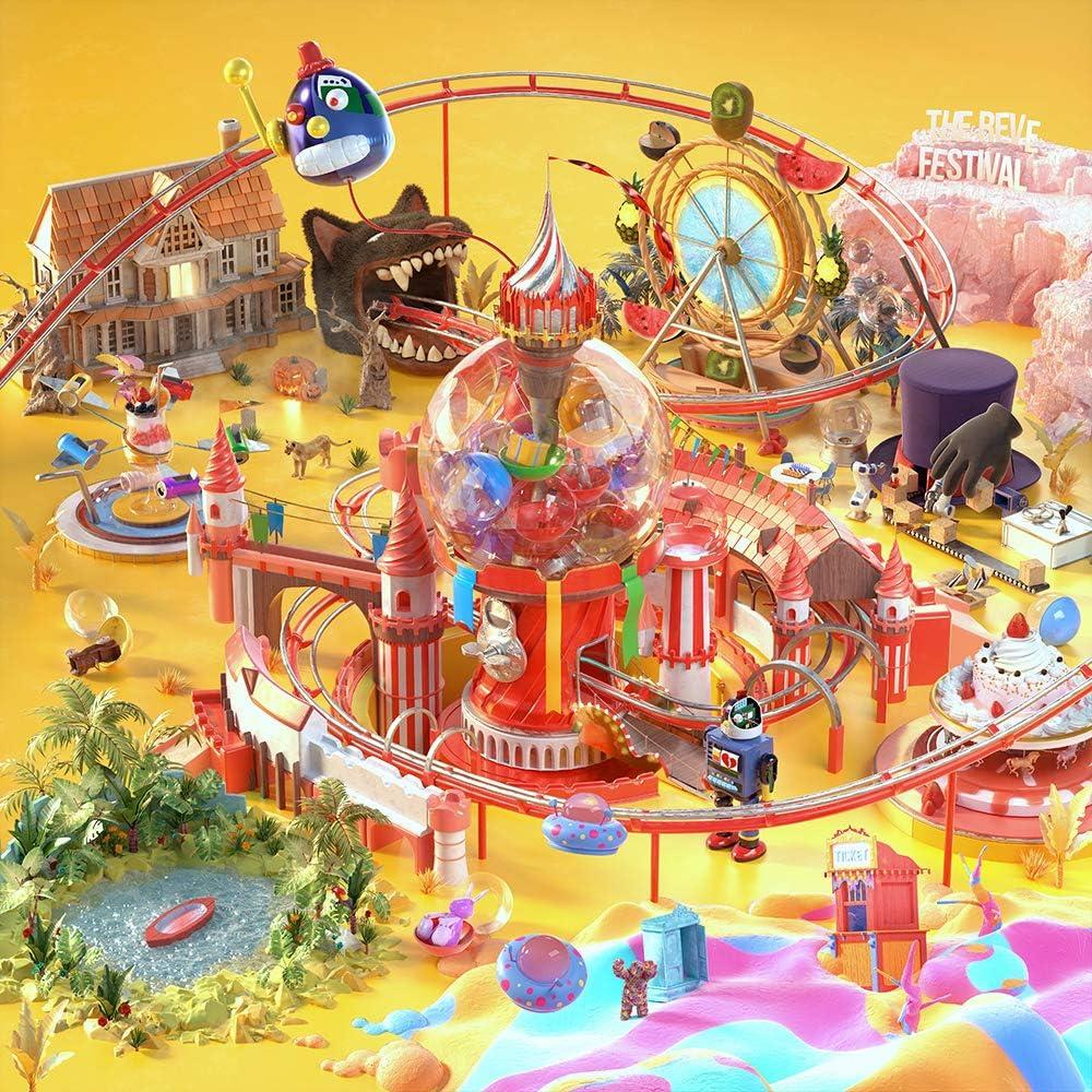SM Ent RED Velvet - The Reve Festival Day 1 [Day 1 ver.] Album+Extra Photocards Set (Random ver.)