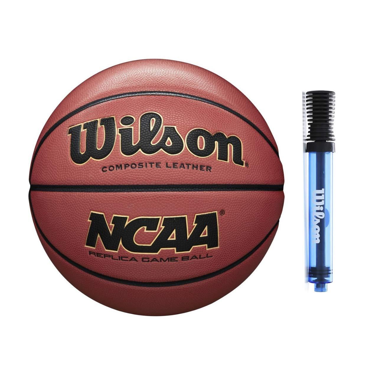 Amazon.com: Wilson NCAA Replica - Balón de baloncesto (29,5 ...