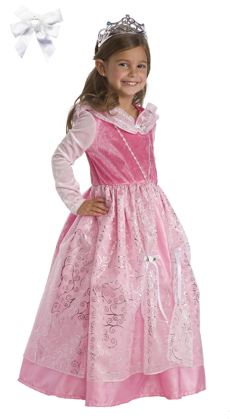 little adventures deluxe pink sleeping beauty princess costume ages 13