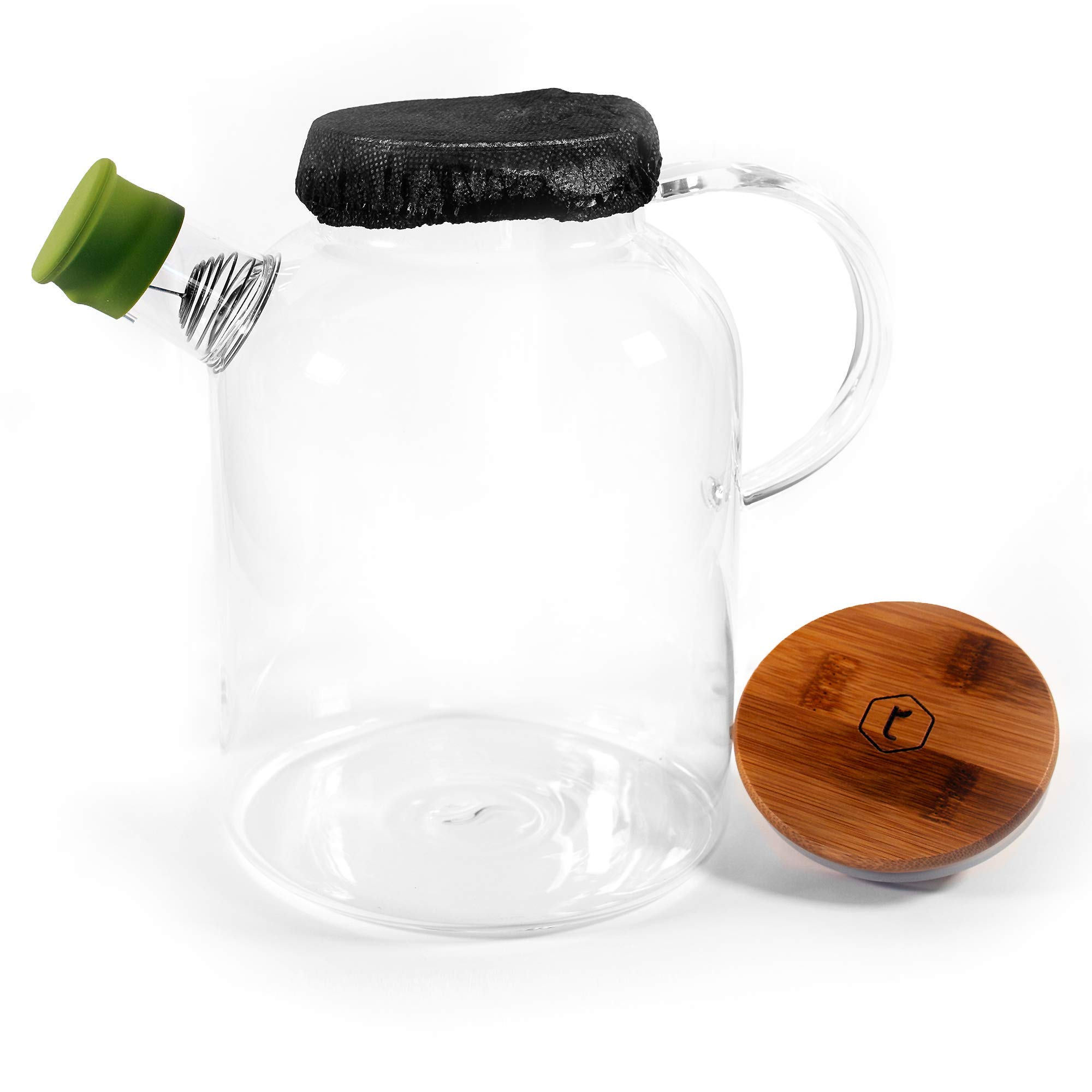 Easiest Brew & Pour Kombucha Fermentation Home Brewing Kit