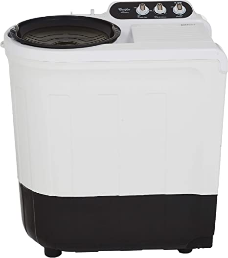 Whirlpool Ace 7.2 Supreme Semi-automatic Top-loading Washing Machine (ACE SUPREME 7.2, Grey, Ace Wash Station) Washing Machines & Dryers at amazon
