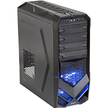 Amazon Com Rosewill Atx Mid Tower Black Gaming Computer