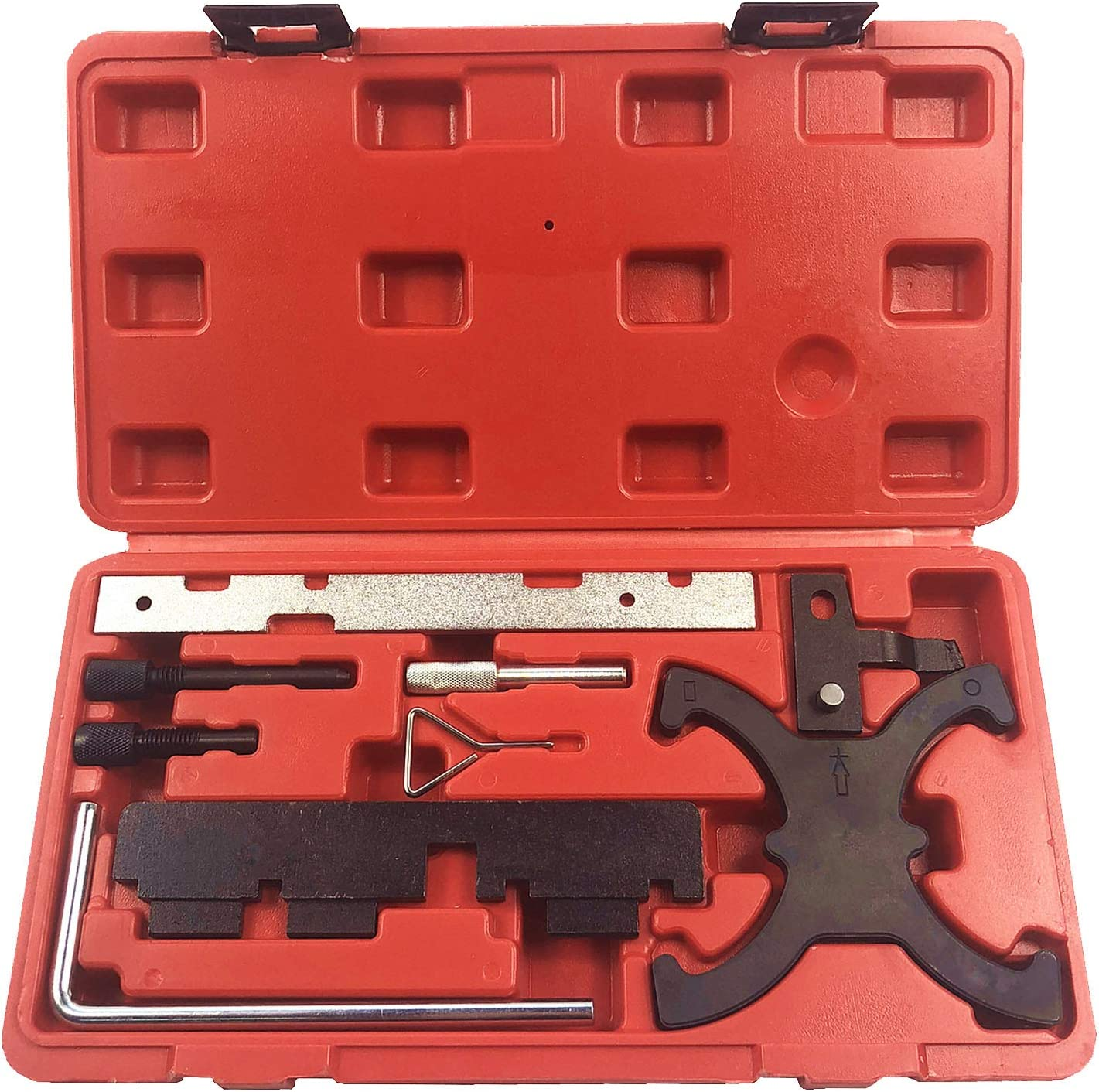 03-09 Best Q Engine Camshaft Timing Locking Tool Set Kit for Ford 1.6 VVT and Focus//C Max 1.6 VCT-Ti