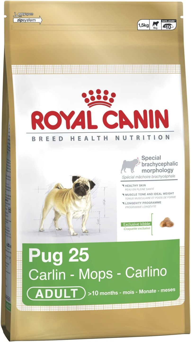 Royal Canin Breed Health Nutrition Mops Adult | 500 g