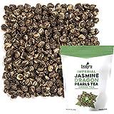 Tealyra - Imperial Jasmine Dragon Pearls - Loose Leaf Green Tea - Jasmine Green Tea with Pleasant Aroma and Tonic Effect - 22