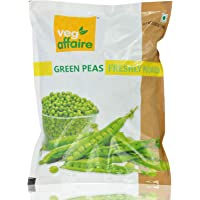 Veg Affaire Frozen Vegetables - Green Peas, 500g Pouch