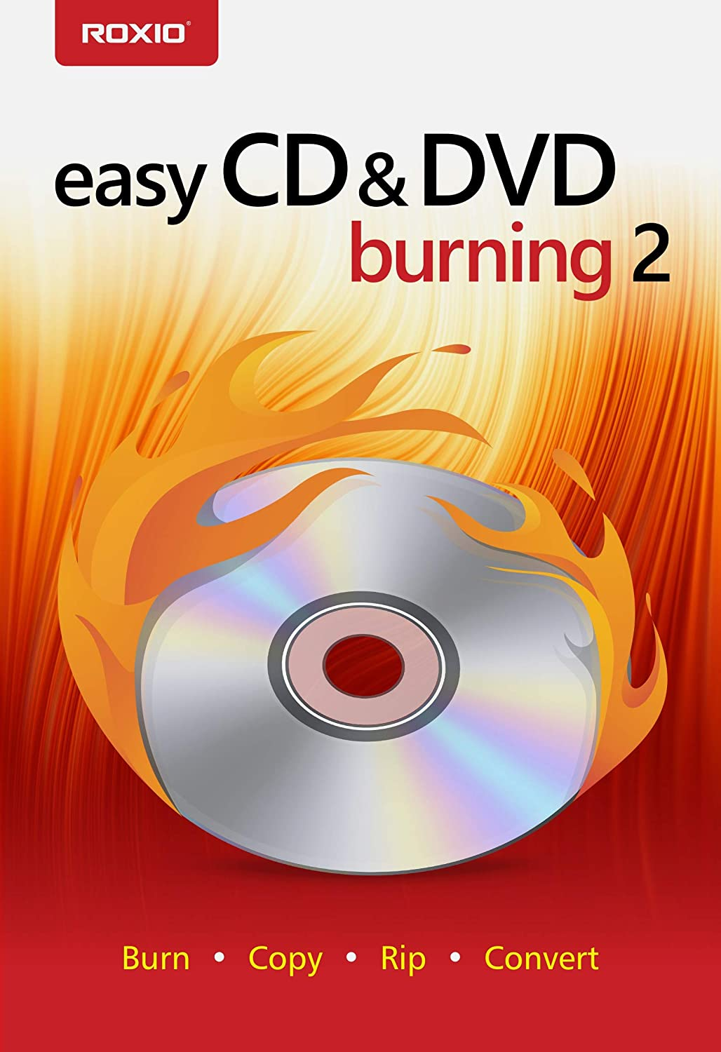 Roxio Easy CD & DVD Burning 2 | Disc Burner & Video Capture [PC Download]
