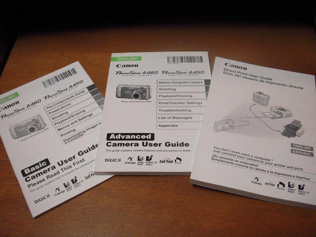 canon powershot a450 a460 digital camera basic and advanced user rh amazon com Canon PowerShot A610 Canon PowerShot A610