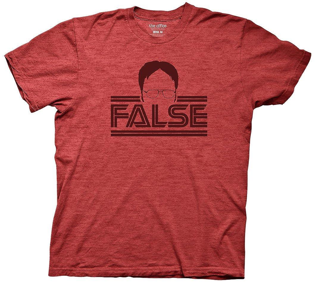Ripple Junction The Office Mens Dwight Silhouette False T-Shirt