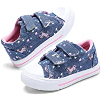 Amazon Price History for:nerteo Toddler Boys & Girls Shoes Kids Canvas Sneakers